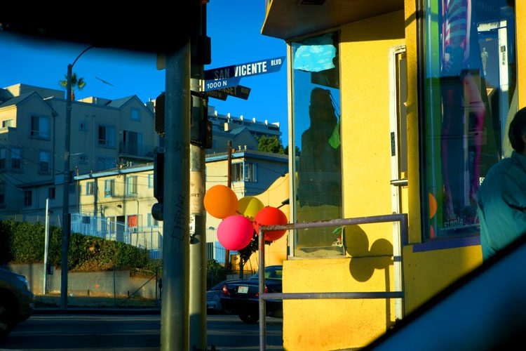 Balloons on Sunset Blvd : Hollywood LA