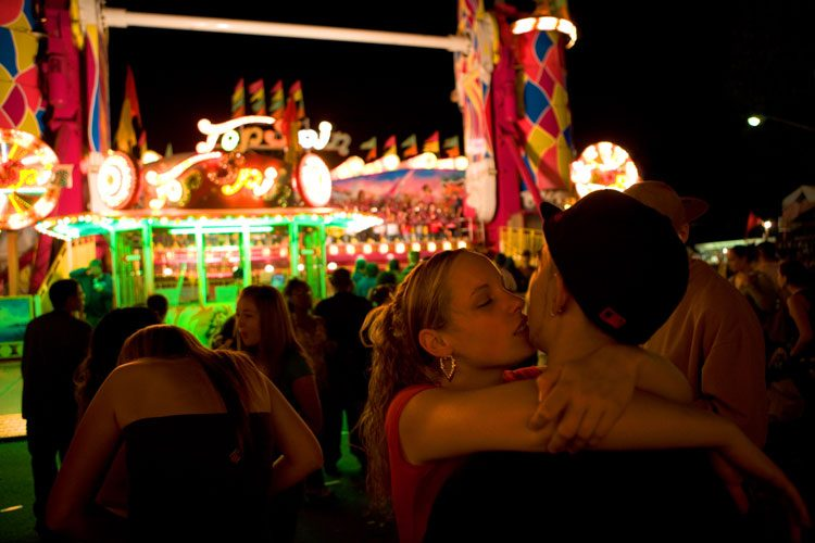Teen Romance at the New York State Fair : Syracus NY