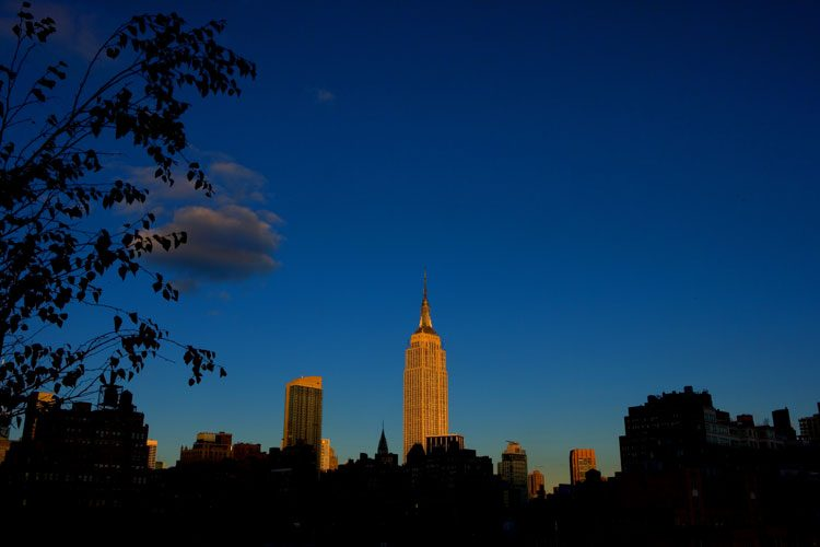 Shining City on the Hill ….sort of : Empire State Building NYC