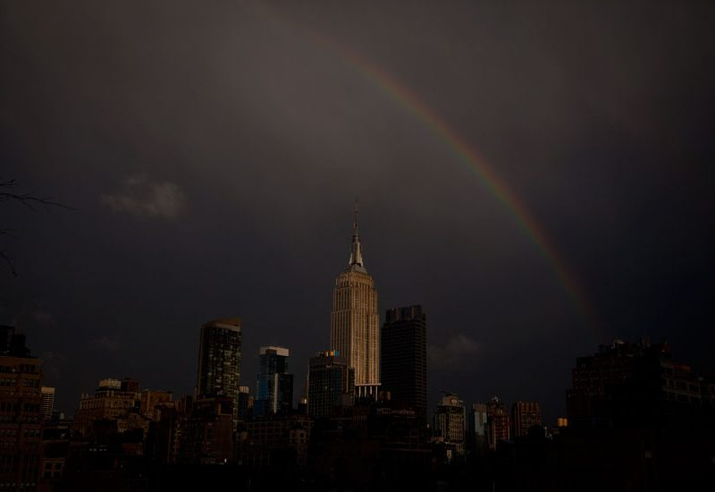 Empire State Rainbow : New York City