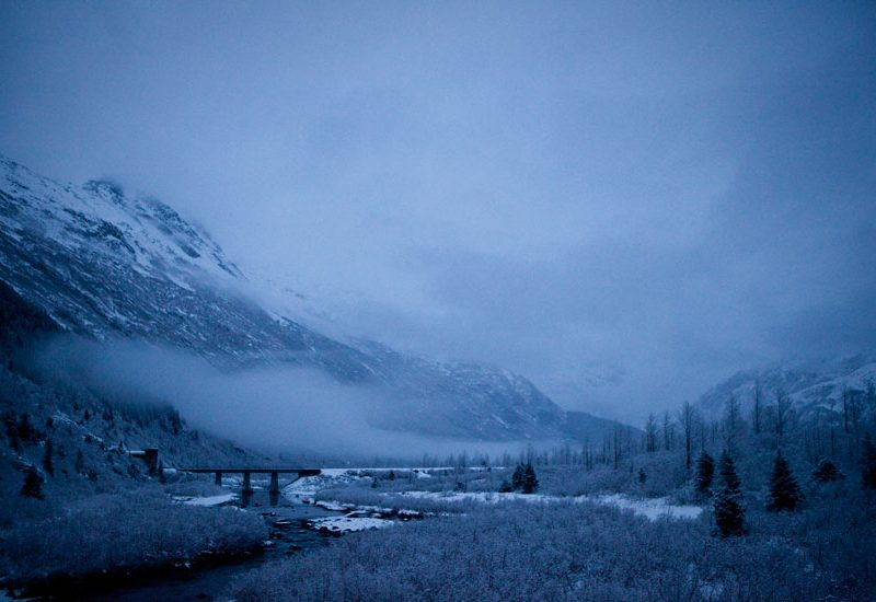 Portage Glacier Highway : Placer Creek : Alaska