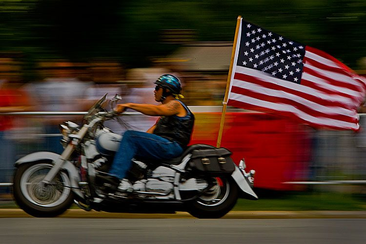 150th Anniversary of The Gettysburg Address : Rolling Thunder : DC : USA