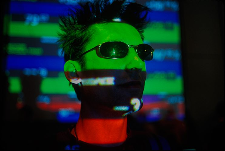 Face of DEF CON Hacker : Las Vegas : Nevada