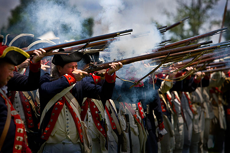 Independence Day : Revolutionary War Reenactment : Mt Vernon