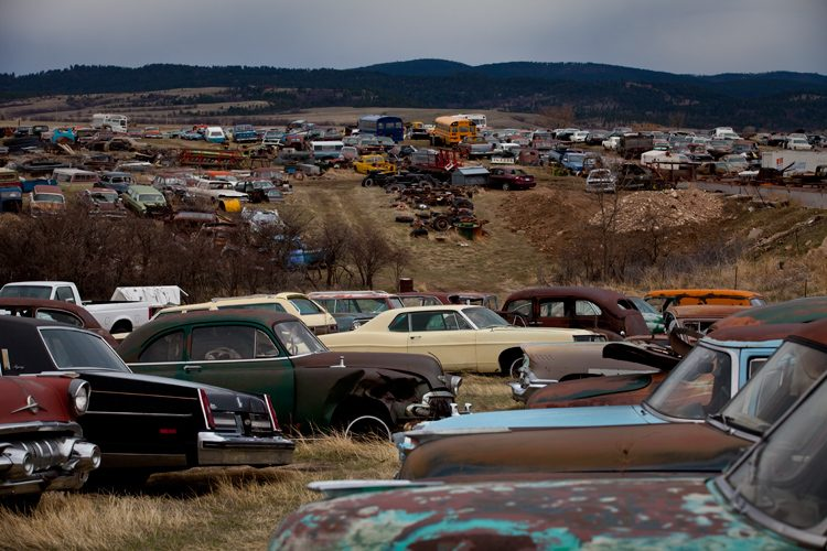 Jims Auto Salvage : Sturgis : South Dakota