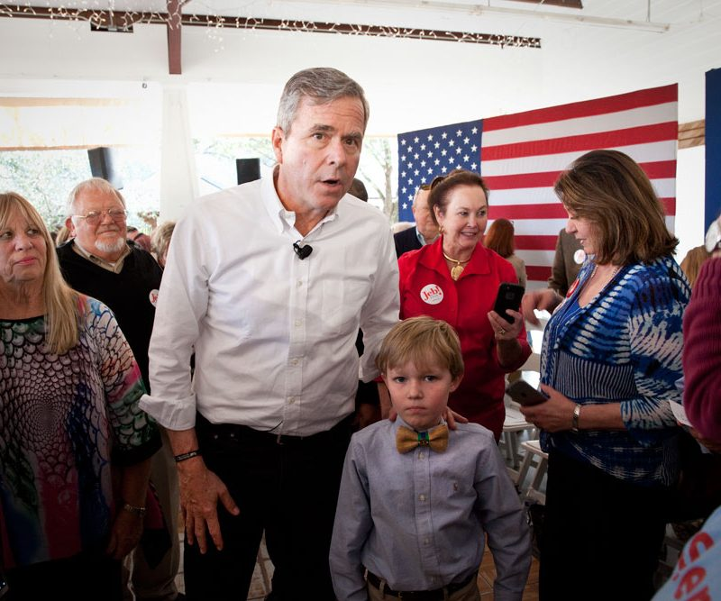 Jeb Bush is Down and Out : Summerville : South Carolina