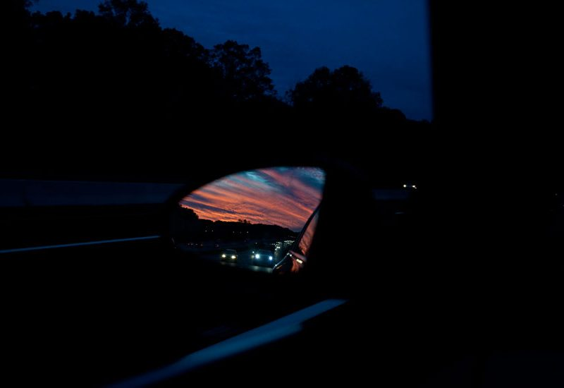 Mirror and Sky : Rolling in Rhode Island