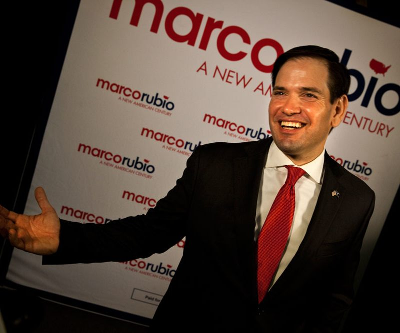 Marco Rubio Under Pressure : Republican Presidential Primary Race : Charleston SC