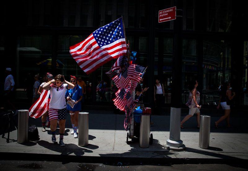 Canyon of Heroines : USA Womens Soccer Team Parade : NYC