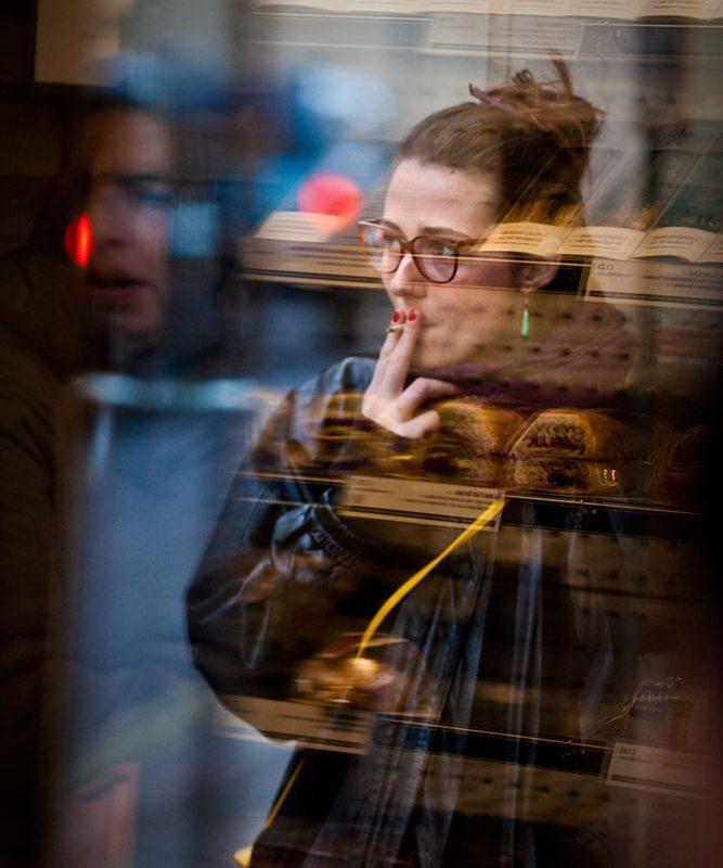 Sara Sneaky Cigi : Covent Garden : London
