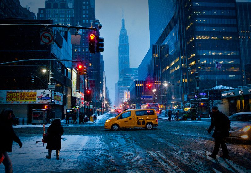 Early Empire State of Mind : New York City : USA