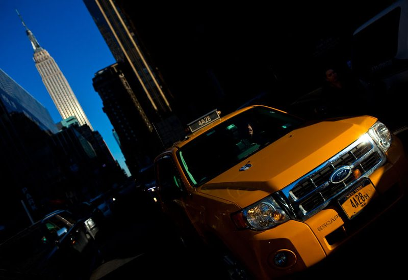 Fade to Black : Uber Cars Outnumber Yellow Cabs : NYC