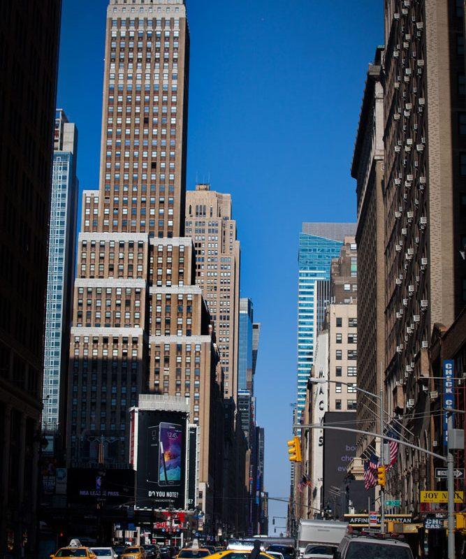7th Avenue Looking North at Penn : Manhattan : New York City
