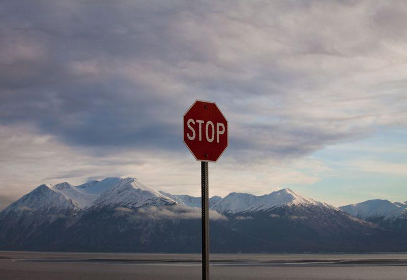 Stop Alaska : Seward Highway : Alaska USA