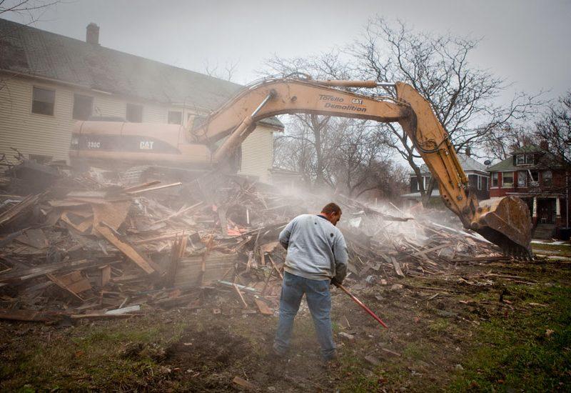 Demolition in Detroit : Cheveux Street : Detroit