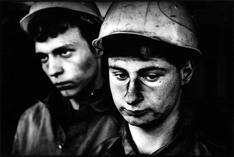 Stazi Coal Miners After the Fall of the Wall : Berlin 1989