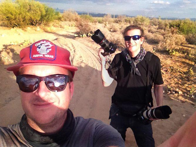 Desert Rats : Sonoran Desert Arizona : USA