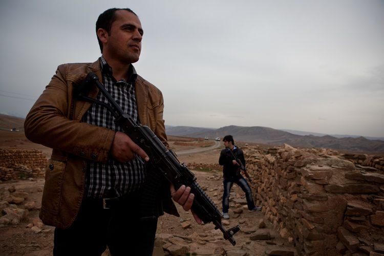 Sardar : Security Team Leader : Kurdistan : Iraq