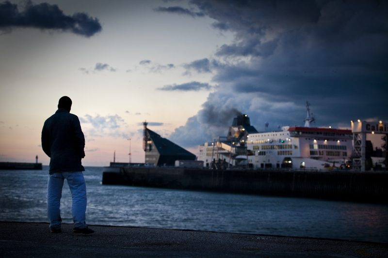 Salt Water; Sweat Tears and the Sea : The Port of Calais : France