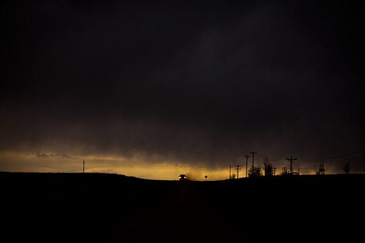North Dakota Brooding Sky : Dickinson : USA