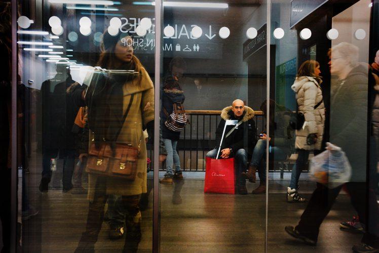 The Red Bag : Tate Modern : London
