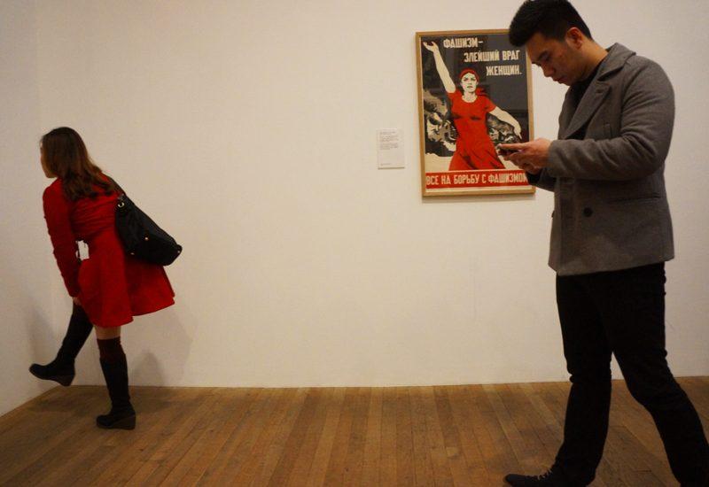 Women in Red : Tate Modern : London