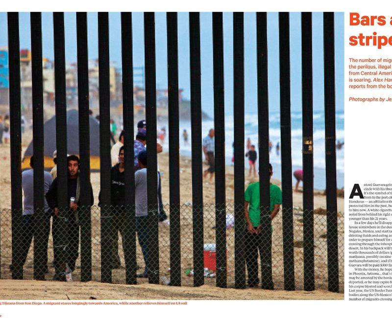 Bars and Stripes : US Border Story Sunday Times Magazine