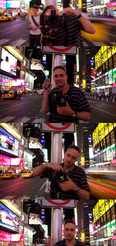 Happy Birthday MJ – Times Square NYC