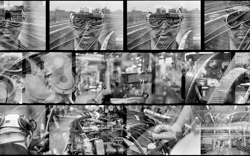 Men and Machines : Subway System : NYC