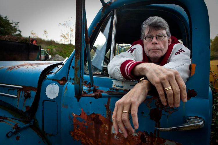 Stephen King Back to The Shining : Maine : USA