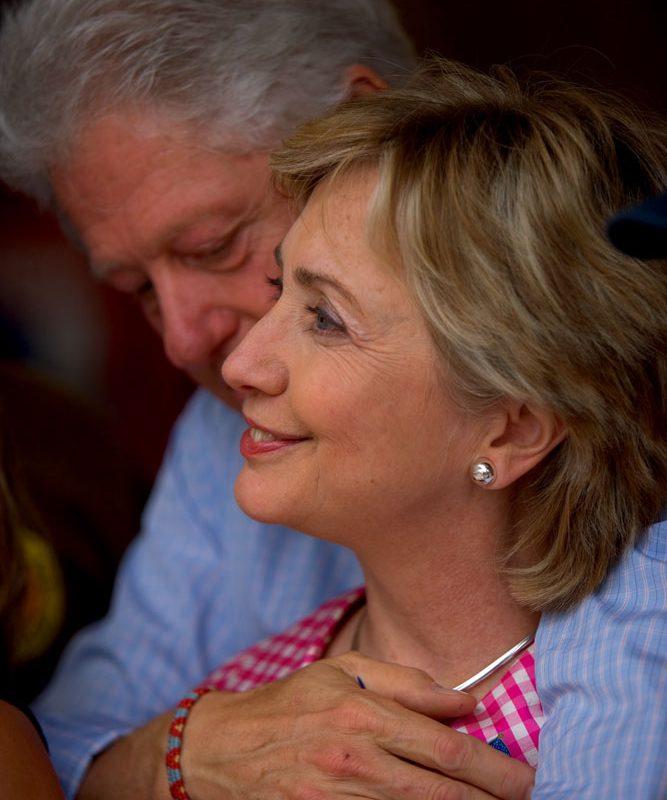 Hillary And Bill Clinton : State Fair : New York