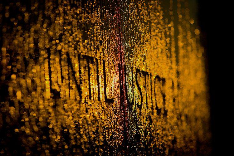 Until Justice : Civil Rights memorial : Montgomery Alabama