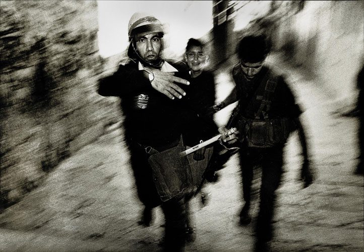 Today Hope for Israel Palestine Peace talks : Arrest of Arab Child back in the Day : Jerusalem