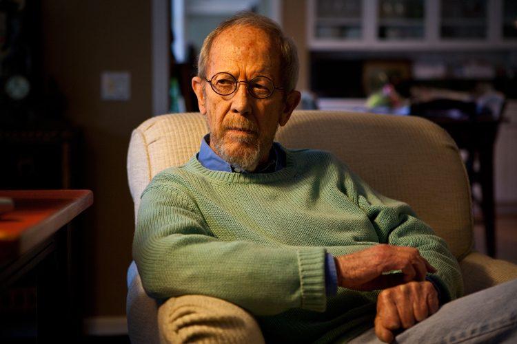 Elmore Leonard : At Home in Detroit : Michigan USA
