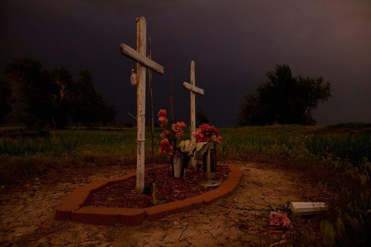 Road Side Shrine : Near Dodge City : Kansas