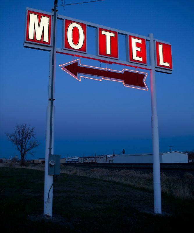 Montana Motel : Billings : Montana USA