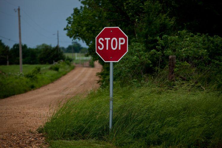 Red on Green : Chekotah : Oklahoma