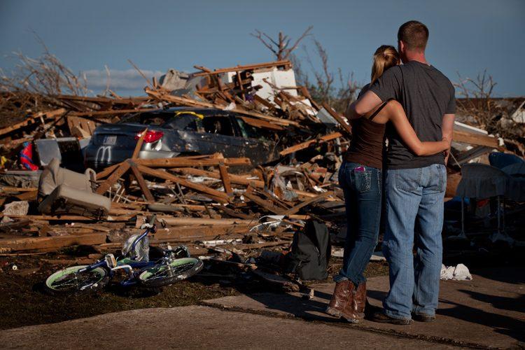 Safe Embrace : Moore Tornado : Oklahoma