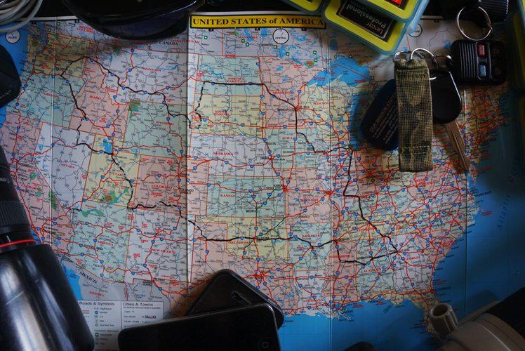 Jez On Walkabout USA : South Dakota : USA